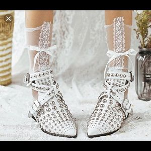 Jeffery Campbell/Free People studded bootie colab